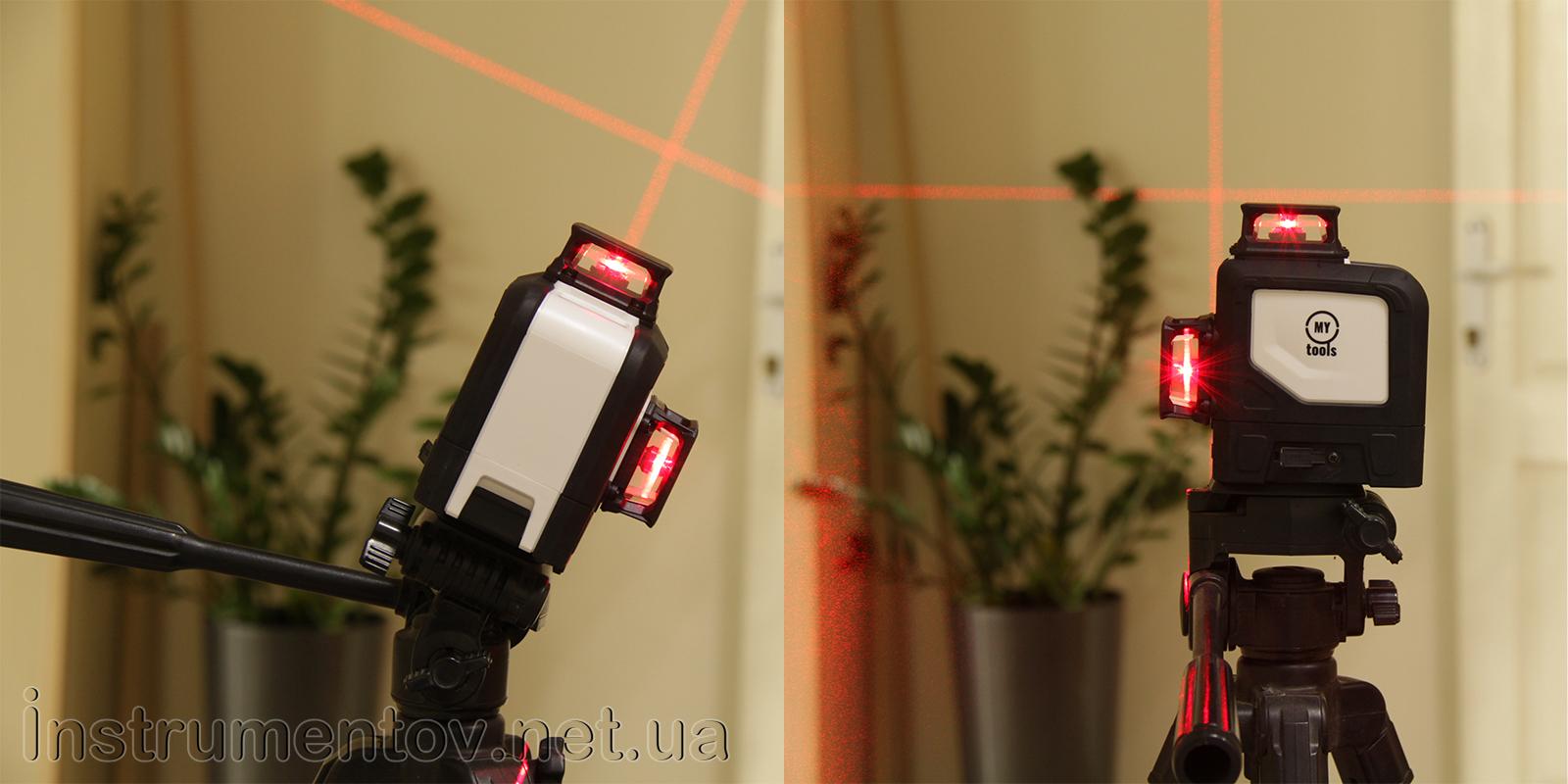 Купить лазерный нивелир My Tools 144-3R-360