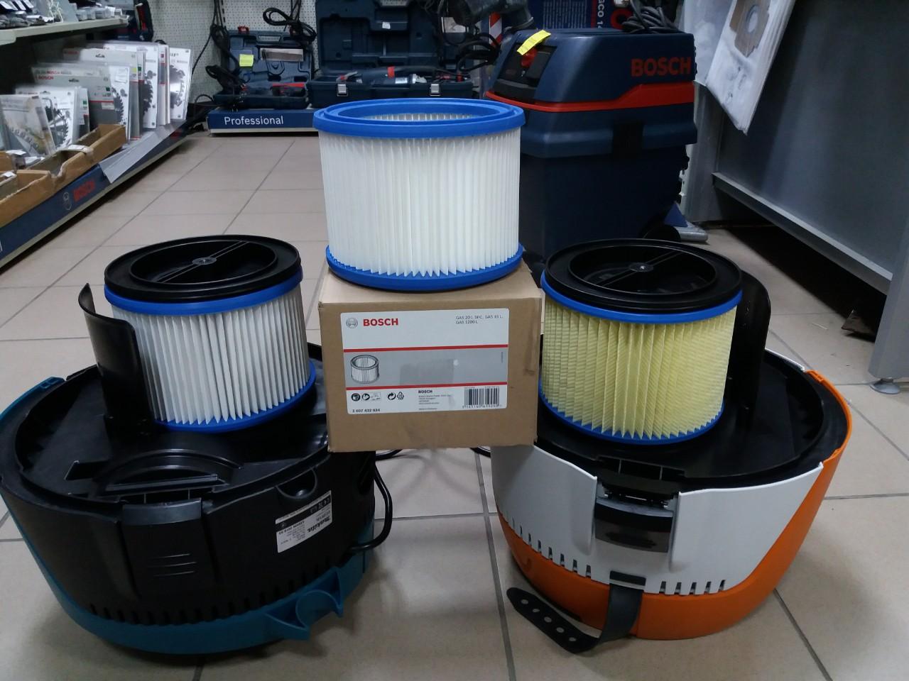 Универсальный фильтр для пылесосов Bosch 2607432024