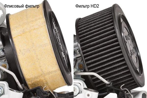 Фильтры бензопил  STIHL MS 231 и MS 251