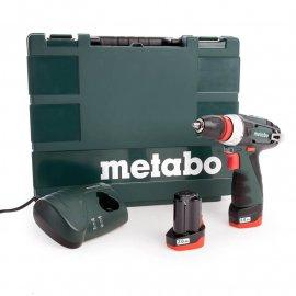 Аккумуляторный шуруповерт Metabo PowerMaхх BS Quick Basic (600156500)