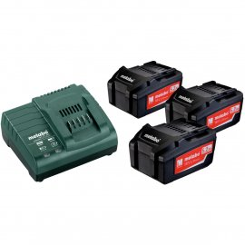 Набор аккумуляторов Metabo 18 В, 3х5.2 Ач, Li-Ion (685048000)