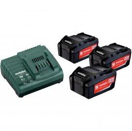 Набор аккумуляторов Metabo 18 В, 3х4.0 Ач, Li-Ion (685049000)