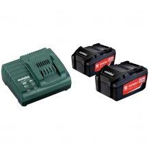 Набор аккумуляторов Metabo 18 В, 2х4.0 Ач, Li-Ion (685050000)