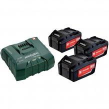 Набор аккумуляторов Metabo 18 В, 3х5.2 Ач, Li-Ion (685061000)
