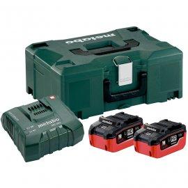 Набор аккумуляторов Metabo 18 В, 2х5.5 Ач, LiHD + MetaLoc (685077000)