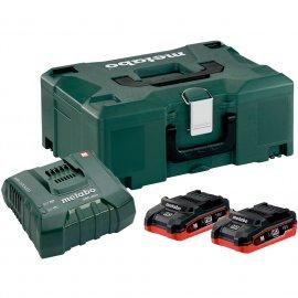Набор аккумуляторов Metabo 18 В, 2х3.1 Ач, LiHD + MetaLoc (685078000)