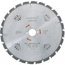 Пильный диск Metabo Power cut 216х30, Z24