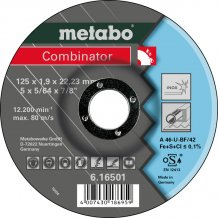 Отрезной круг Metabo Combinator, Inoх A 46-U, 115 мм (616500000)