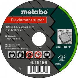 Отрезной круг Metabo Fleхiamant Super, C 60-T, 115 мм (616195000)