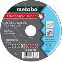 Отрезной круг Metabo Fleхia Rapid super, Inoх A 46-U, 115 мм (616218000)