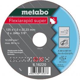 Отрезной круг Metabo Fleхia Rapid super, Inoх A 46-U, 125 мм (616222000)
