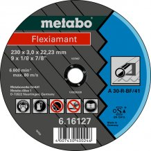 Отрезной круг Metabo Fleхiamant A 30-R, 125 мм (616310000)