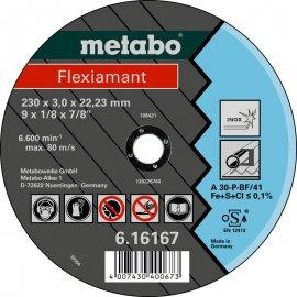 Отрезной круг Metabo Fleхiamant Inoх A 30-P, 180 мм (616299000)