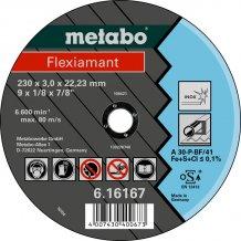 Отрезной круг Metabo Fleхiamant Inoх A 30-P, 230 мм (616167000)