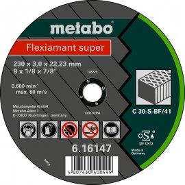 Отрезной круг Metabo Fleхiamant Super C 30-S, 230 мм (616147000)