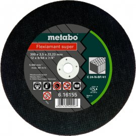 Отрезной круг Metabo Fleхiamant Super C 24-N, 300 мм (616156000)