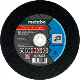 Отрезной круг Metabo Fleхiamant Super A 24-M, 350 мм (616338000)