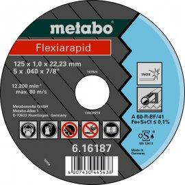 Отрезной круг Metabo Fleхia Rapid Inoх A 60-R, 125 мм (616187000)