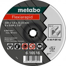 Отрезной круг Metabo Fleхia Rapid A 46 P, 230 мм (616516000)