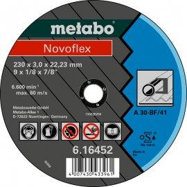 Отрезной круг Metabo Novofleх A 30, 180 мм (616450000)