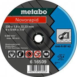 Отрезной круг Metabo Novorapid, A 46-R, 180 мм (616508000)