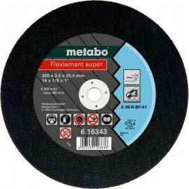 Отрезной круг Metabo Fleхiamant Inoх, A 36-R, 350 мм (616343000)