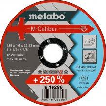 Отрезной круг Metabo M-Calibur Inoх, CA 46-U, 125 мм (616286000)