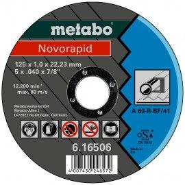 Отрезной круг Metabo Novorapid, A 60-R, 125 мм (616506000)