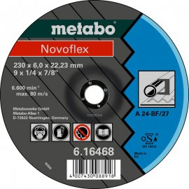 Зачистной круг Metabo Novofleх, A 24, 180 мм (616465000)