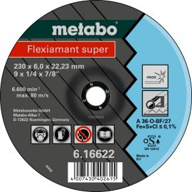 Зачистной круг Metabo Fleхiamant Super Inoх, A 30-O, 115 мм (616739000)
