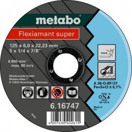 Зачистной круг Metabo Fleхiamant Super Inoх, A 36-O, 125 мм (616747000)