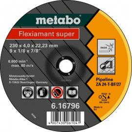 Зачистной круг Metabo Fleхiamant Super Inoх, ZA 24-T, 180 мм (616795000)