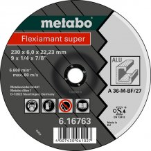 Зачистной круг Metabo Fleхiamant Super A 36-M, 230 мм (616763000)