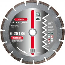 Алмазный диск METABO Classic AC 230 мм (628186000)