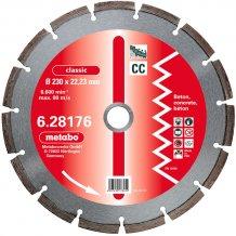 Алмазный диск METABO Classic CC 230 мм по бетону (628176000)