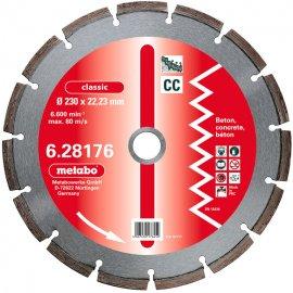 Алмазный диск METABO Classic CC 300 мм по бетону (628177000)