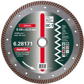 Алмазный универсальный диск METABO Classic UC-T Turbo 125 мм (628168000)