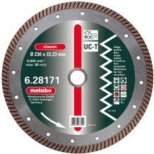 Алмазный универсальный диск METABO Classic UC-T Turbo 230 мм (628171000)