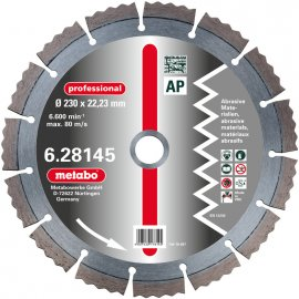 Алмазный диск METABO Professional AP 230 мм (628145000)
