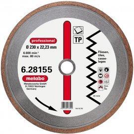 Алмазный диск METABO Professional TP 180 мм по керамике (628154000)