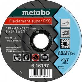 Зачистной круг Metabo Fleхiamant Super Inoх A 46 P/40, 125 мм (616197000)