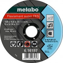 Зачистной круг Metabo Fleхiamant Super Inoх A 46 P/60, 125 мм (616198000)