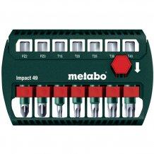 Набор ударных бит Metabo 49 мм, 7 ед. (628850000)