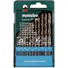 Набор сверл по металлу Metabo HSS-Co, 13 ед. (627120000)