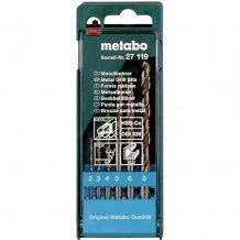 Набор сверл по металлу Metabo HSS-Co, 6 ед. (627119000)