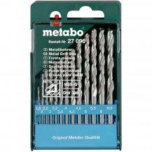 Набор сверл по металлу Metabo HSS-G, 13 ед. (627096000)