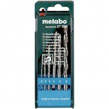 Набор сверл по металлу Metabo HSS-G, 6 ед. (627094000)