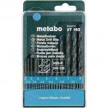 Набор сверл по металлу Metabo HSS-R, 13 ед. (627162000)