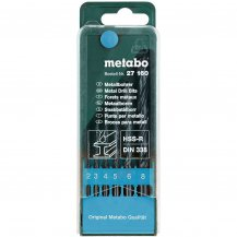 Набор сверл по металлу Metabo HSS-R, 6 ед. (627160000)