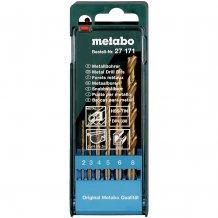 Набор сверл по металлу Metabo HSS-TiN 6 ед. (627171000)